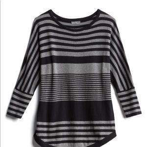 Variegated Stripe Dolman Pullover